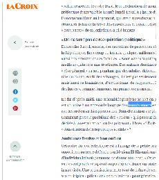 Article La Croix